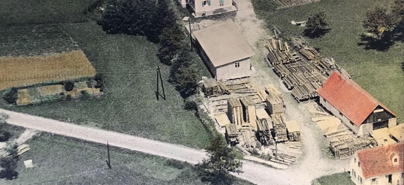 Sägewerk Resch 1950